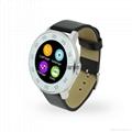 NEW S366 ultra-thin Bluetooth 4.0 Smart Watch HD round screen