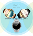 New KW18 smart card heart rate card step IOS English Andrew smart watches