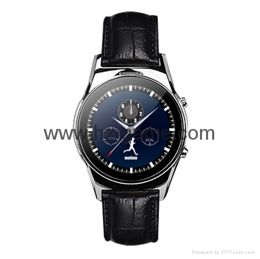 waterproof smart Bluetooth watch to support dual system watches 4