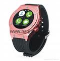 waterproof smart Bluetooth watch to