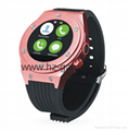 waterproof smart Bluetooth watch to support dual system watches