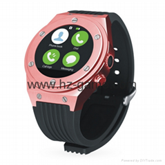 全球首发IP67级防水智能蓝牙手表,蓝宝石镜面,支持双系统