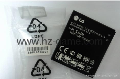 Advantage of supply LG battery LG P990 mobile phone battery FL-53HN 5