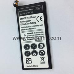 厂家直销三星GAlaxy S7直屏手机电池内置电板G9300锂聚合物