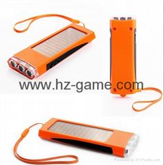 Smart flashlight solar f