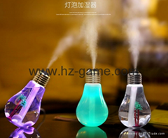 New light bulb humidifier bright lights desktop micro landscape small vase