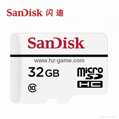 Sandisk Video surveillance microSD memory card 32G driving recorder memory card