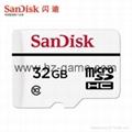 閃迪高耐久性視頻監控microSD存儲卡32G行車記錄儀內存卡 4