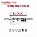 闪迪高耐久性视频监控microSD存储卡32G行车记录仪内存卡 2