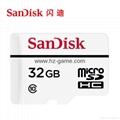 闪迪高耐久性视频监控microSD存储卡32G行车记录仪内存卡 20