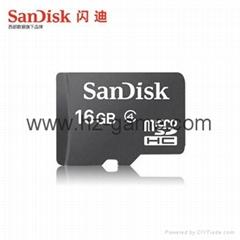 Sandisk閃迪移動microSD存儲卡4G/8G/16G/32G/64G手機內存卡迷你SD儲存卡TF卡