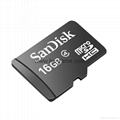 hot Sandisk microSDHC memory card 16G phone mini SD card