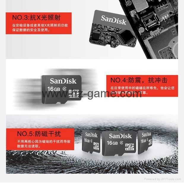 閃迪SanDisk 128GB 讀速100MBs 32GB64GB16GB 8GB極速移動MicroSDHC 13