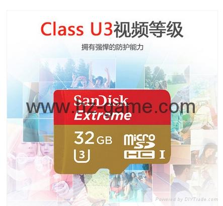 闪迪SanDisk 128GB 读速100MBs 32GB64GB16GB 8GB极速移动MicroSDHC 20
