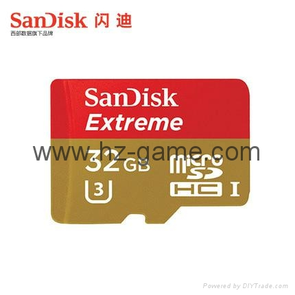 Sandisk極速移動microSD存儲卡8G/16G/32G/64G/128G手機內存卡行車記錄儀卡 2