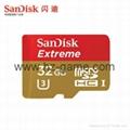 Sandisk极速移动microSD存储卡8G/16G/32G/64G/128G手机内存卡行车记录仪卡 2