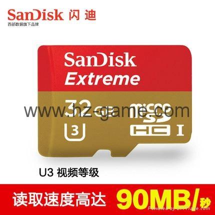 Sandisk極速移動microSD存儲卡8G/16G/32G/64G/128G手機內存卡行車記錄儀卡 1
