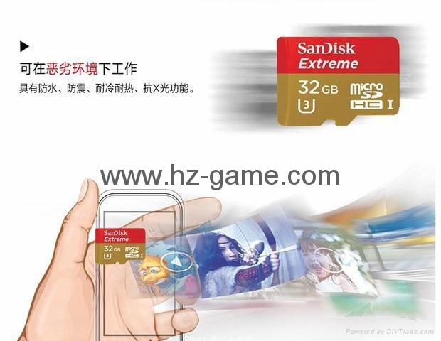 Sandisk极速移动microSD存储卡8G/16G/32G/64G/128G手机内存卡行车记录仪卡 18