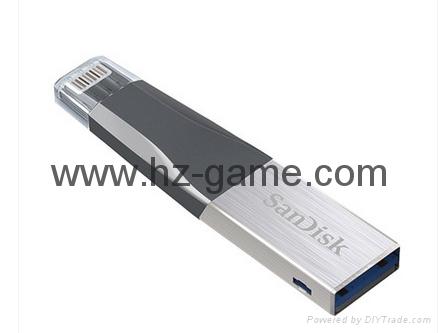 Sandisk手機閃存盤8G/16G/32G/64GB/128G iPhoneX雙插頭蘋果手機U盤 4