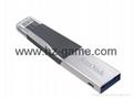 Sandisk手机闪存盘8G/16G/32G/64GB/128G iPhoneX双插头苹果手机U盘 4