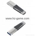 Sandisk Mobile phone flash drive 64GB iPhone6s double plug ...