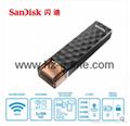 Sandisk手机闪存盘8G/16G/32G/64GB/128G iPhoneX双插头苹果手机U盘 16
