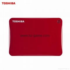 東芝移動硬盤500G1T3t 30高速3tb高清3D電影動畫拷滿片源電視紀錄片