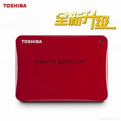 东芝移动硬盘3t 30高速3tb高清3D电影动画拷满片源电视纪录片