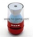 新款X6小橄榄球带灯LED蓝牙音箱发光玄幻音响无线迷你蓝牙低音炮 12