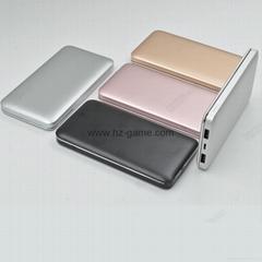 新款鋁合金移動電源10000毫安超薄聚合物充電寶禮品定製移動電源