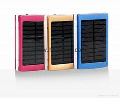 10000毫安LED迷你燈露營充電寶大容量強光燈太陽能移動電源批發