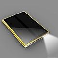 New Solar mobile power supply 12000mAh