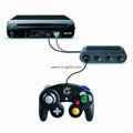 4 Ports USB Converter For N-Gamecube To WiiU Replacement Adapter GC Game