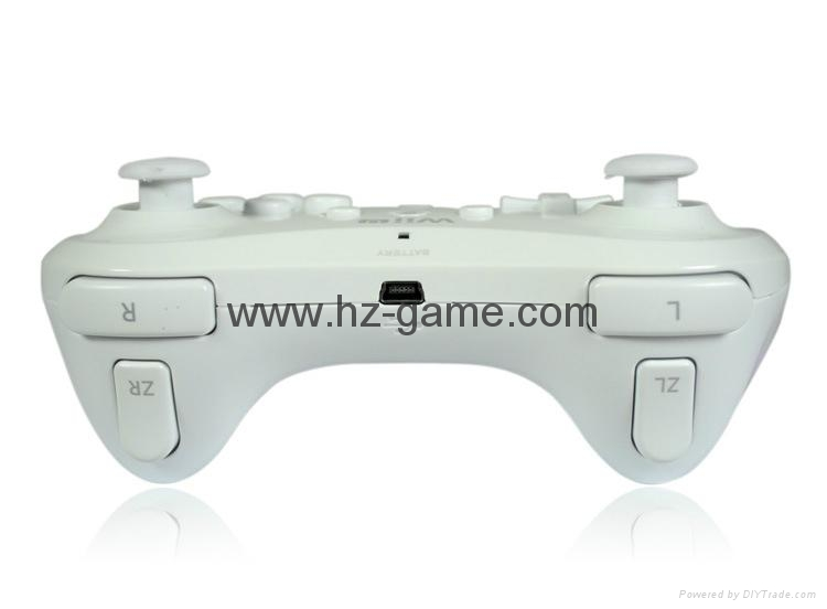 WII Interface classic two generation handle  Wii game accessories 4