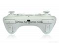 新款產品經典WIIU手柄wiiU加強版遊戲手柄wiiU牛角黑白色 4