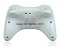 新款產品經典WIIU手柄wiiU加強版遊戲手柄wiiU牛角黑白色 5