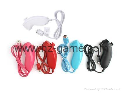 新款產品經典WIIU手柄wiiU加強版遊戲手柄wiiU牛角黑白色 13