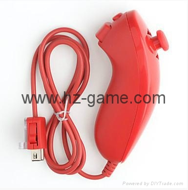 新款產品經典WIIU手柄wiiU加強版遊戲手柄wiiU牛角黑白色 19