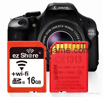 WIFI SD 卡套 TF轉wifi sd 相機數碼內存卡 可OEM支持128GB內存卡 8