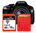 ez share/易享派 wifi sd卡 16g 相機內存卡單反存儲卡尼康佳能 3