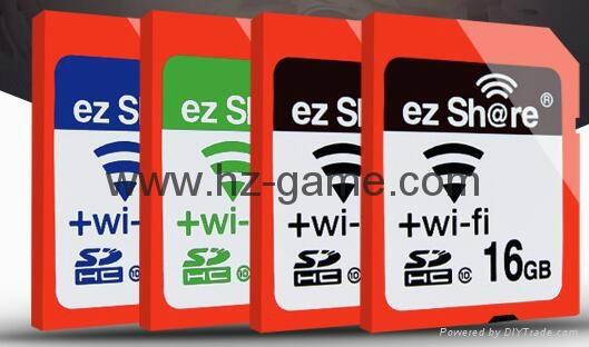 ez share/易享派 wifi sd卡 16g 相機內存卡單反存儲卡尼康佳能 4