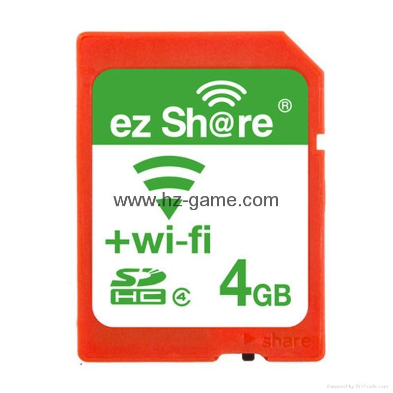 ez share/易享派 wifi sd卡 16g 相機內存卡單反存儲卡尼康佳能 6