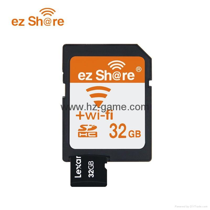 WIFI SD 卡套 TF轉wifi sd 相機數碼內存卡 可OEM支持128GB內存卡 6