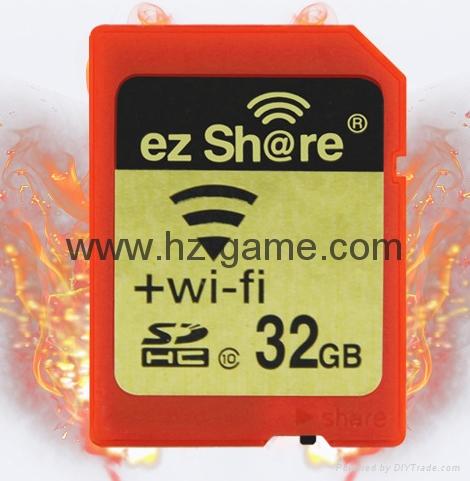 WIFI SD 卡套 TF轉wifi sd 相機數碼內存卡 可OEM支持128GB內存卡 16