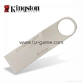 HOT Kingston mini key DTSE9 usb flash drive usb2.0 / usb3.0 USB stick pen drive