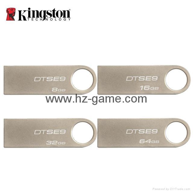 批发KingSton金士顿DTSE9 8gb 16gb 32gb 64gb 金属 创意 防水U盘 6