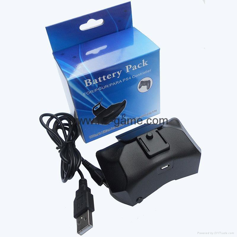 现货新品PS4手柄电池ps4背挂电池PS4背夹电池外挂可充电池包 14