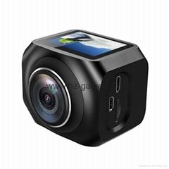 New 360 panoramic camera VR Panorama shooting HD dual lens R360 Virtual