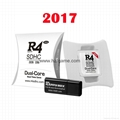 HOT  2017  R4i dual core (The White), R4isdhc 3ds dsi, R4 3ds fire card