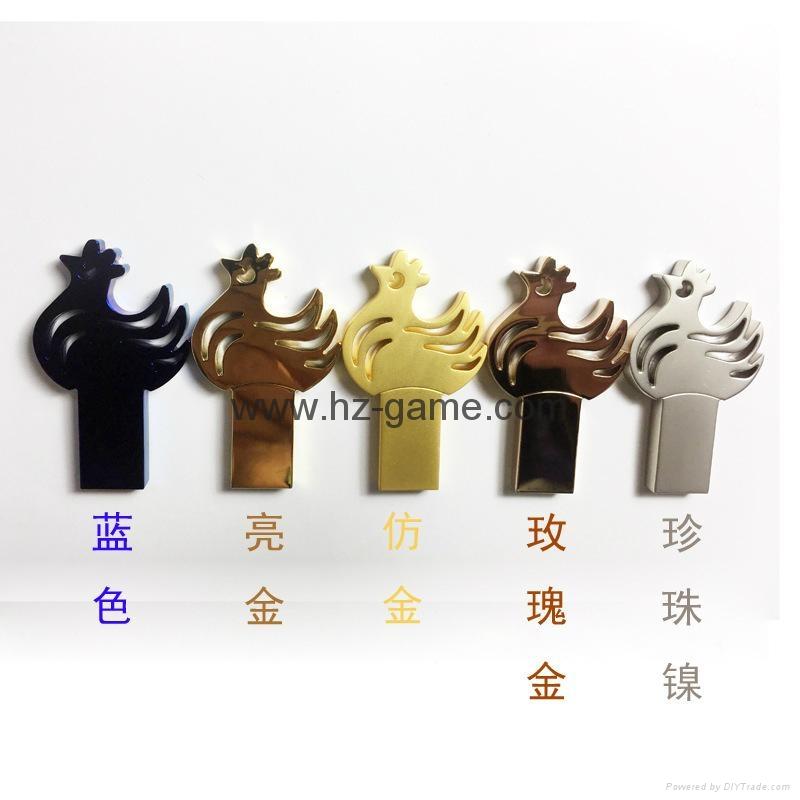 New chicks U disk USB 8G16G Golden Rooster Year Cartoon 5